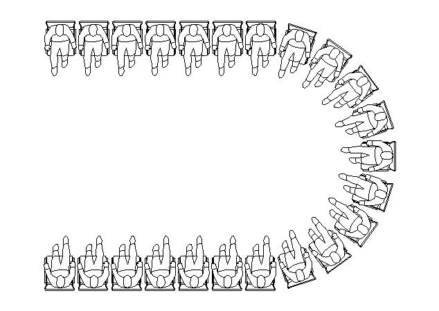 چینش صندلی ها ۵