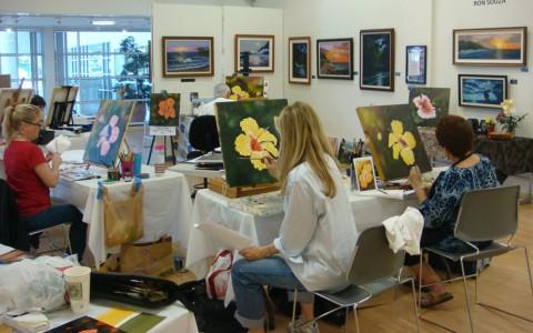 کارگاه نقاشی